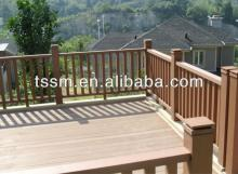 And Durable WPC Fence For Garden Long Life Wood Plastic Composite Panel Board