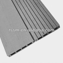 large  outdoor hollow design WPC flooring