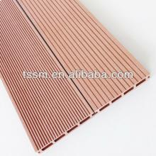 Solid wpc decking colorful decking