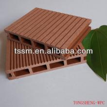 2014New Outdoor  Wood  Plastic Composite Decking wpc MAKE IN CHINA