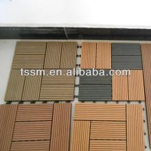 pvc wpc DIY decking floor in wide use
