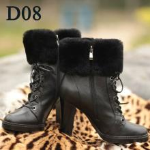 Women Leather Winter Boots Shoes