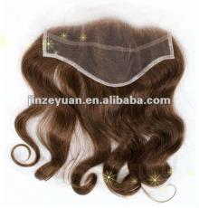 light brown virgin  hair  lace frontal piece