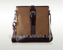 Chocolate Nylon Cross Bag for boy