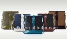 Bag strap leather on nylon fashion American style