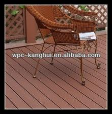 CAML 140*26mm WPC Outdoor HDPE Decking Floor Covering