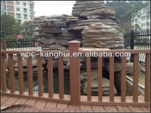 Long Use Life Outdoor  Wood -Plastic Balustrade