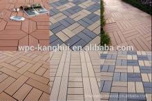 Good CAML WPC DIY decking tile