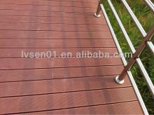 Composite outdoor decking compressed with hardwood look economical laminate flooring