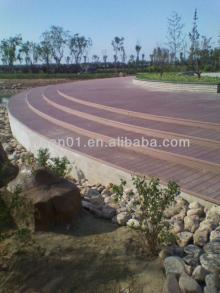 hollow and solid wpc decking for  outdoor   decoration  composite flooring weather resistance