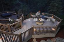 Waterproof WPC floor tile price WPC outdoor decking price