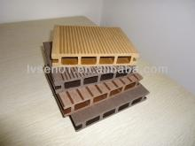 Lvsen Anti-UV Sanding Wood Plastic Composite Floorings Outdoor WPC Decking