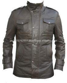 pockit style leather jacket