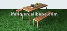 WPC gardening table,  wood  plastic composite table