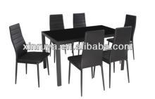 Modern Glass Dining Set for Livingroom Furniture