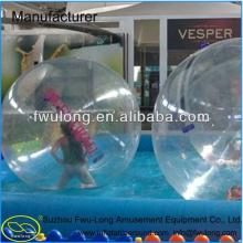 Transparent   PVC /TPU inflatable sized soccer human bubble ball