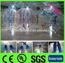 football games PVC/TPU body bubble football / bouncing ball / loopy ball