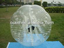 Custom inflatable bubble foot ball , body  zorb   ball