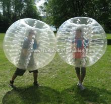 Hot PVC/TPU bubble football ball to the world F7031