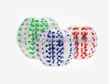 zorb ing  ball , bubble foot ball s,knocker  ball s factory F7027