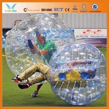 Funny inflatable bubble zorb ball, tpu bumper ball