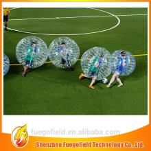 top quality soccer bubble bubble football inflatable bumper bubble