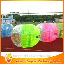 popular indoor bubble football zorb ball manufacturer bumper inflatable ball
