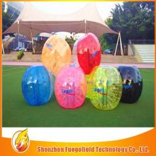 cheap PVC bubble football body loopy bubble soccer funny inflatable loopy ball
