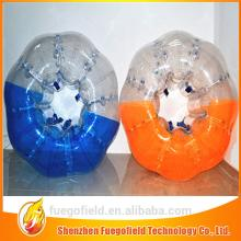 0.8mm 1.0mm tpu tpu bubble football inflatable soccer dummy bumper zorb ball for sale