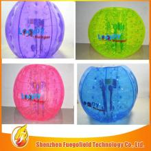 pvc   soft  indoor soccer ball tpu/ pvc  bubble ball for football new bubble football created