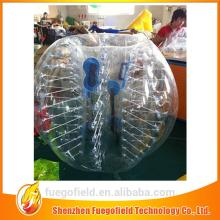manufacture inflatable bumper football body  zorb ing bubble balll football suit