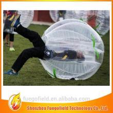 color bumper ball/ bubble football/bubble soccer body zorbs human inflatable bubble ball
