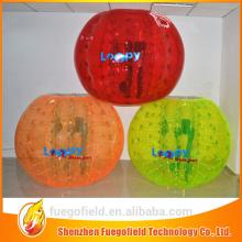 zorb ball manufacturer pvc inflatable zorb ball colorful inflatable bubble ball football