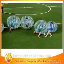 giant bubble football inflatable loopyball/bubble soccer pvc soccer bubble