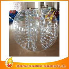 Colorful slide bubble football can be used at pool