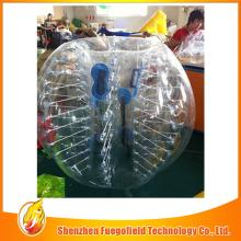 Colorful slide bubble football can be used at home