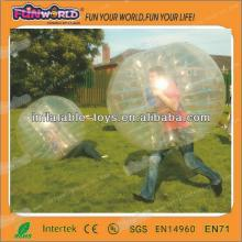 china supplier 2014 inflatable toy bubble suit for adult