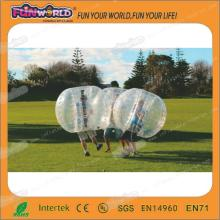 New products 2014 inflatable toy bubble ball for football