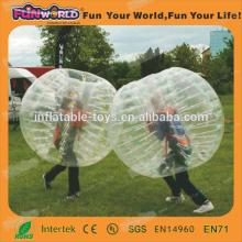 2014 Top Quality cheap human bubble ball for football