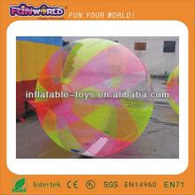 2014 hot bubble football or walking water ball with CE/UL