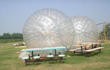 Commercial grade bubble football inflatable zorb ball