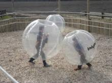 inflatable TPU bubble football,inflatable body zorb