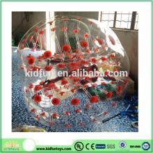 Color Dots human bubble ball/ bubble ball soccer/bubble ball for football Hot 2014