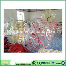 EN14960 certificate inflatable football bubble/supplier inflatable body zorb ball/adult inflatable b