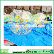 Hot selling inflatable football bubble/inflatable body zorb ball/human inflatable body bumper ball
