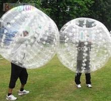 1.5m diameter/1mm TPU bubble football, inflatable bumper ball,cheap  zorb   balls  for  sale