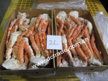 Cooked frozen Blue King crab Section
