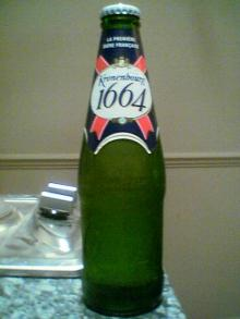 KRONENBOURG 1664 BLANC BEER for sale