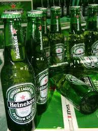 Green Bottled Pack Cans Beer Heineken