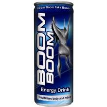 BOOM BOOM ENERGY DRINK 250ml for sale